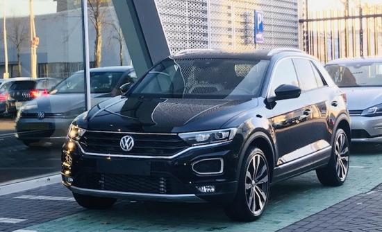 volkswagen t roc 2018 op t roc autonieuws. Black Bedroom Furniture Sets. Home Design Ideas