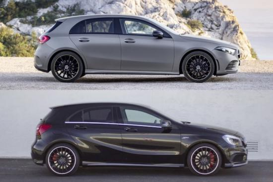 Vergelijking De Nieuwe Mercedes A Klasse Vs De Oude Autoblog Nl