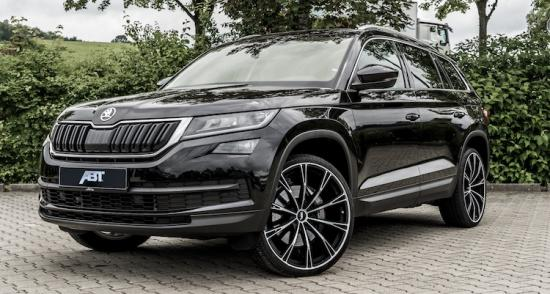skoda kodiaq abt maakt de suv af. Black Bedroom Furniture Sets. Home Design Ideas