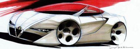 Alfa Romeo Sbarro concept