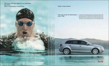 Audi A3 Ian Thorpe