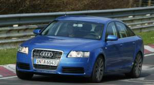 Audi S6 spyshot