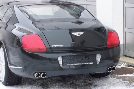 Bentley Continental GT MTM achterkant