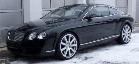 Bentley Continental GT MTM voorkant