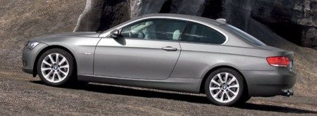 BMW 3-serie coupe zijkant
