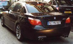 BMW M5 Amsterdam