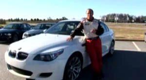 BMW M5 testdrive