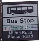 Busstop Engeland