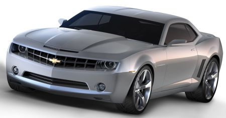 Chevrolet Camaro concept officieel