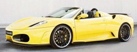 Ferrari F430 Spider Hamann schuin