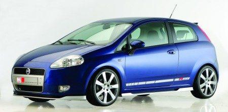 Fiat Grande Punto MS Design blauw