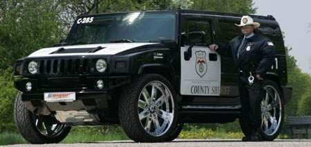 HUMMER H2 by Geiger - Texas sheriff