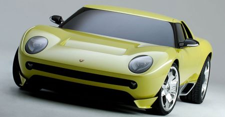 Lamborghini Miura concept voorkant