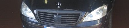 Mercedes S65 AMG spyshot