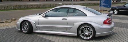 Mercedes CLK DTM AMG zijkant