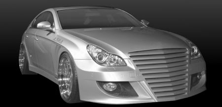Mercedes CLS Shark II bodykit
