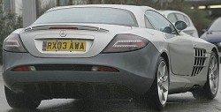 Mercedes SLR Mclaren Spyshot