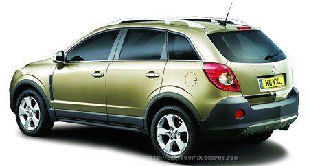 Opel Antara zijkant