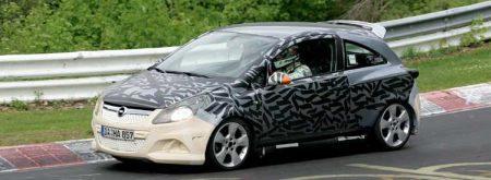 Opel Corsa OPC spyshot 2007