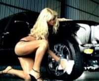 Paris Hilton Bentley carwash