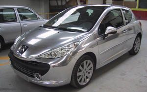 Peugeot 207 Chroom