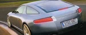 Porsche 928 Panamera coupe