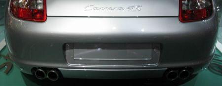 Porsche Carrera 4S uitlaat