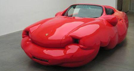 Porsche Fat Car