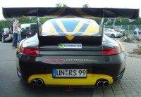 Porsche GT2 achterkant