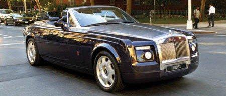 Rolls Royce 100EX in NYC