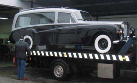 Rolls Royce Phantom V Hearse