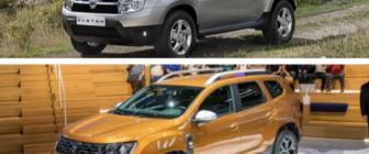 Vergelijk: de nieuwe Dacia Duster versus de oude