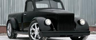 Russische retro-tuning FTW: Escalade GAZ pickup