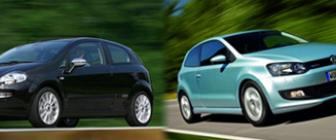 Kies maar: Punto Evo 1.3 of Polo Bluemotion 1.2