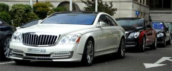 Maybach Xenatech Coupe combo gespot in Londen