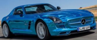 Mercedes SLS Electric Drive: 750 EV-peekaas!