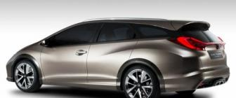 Dit is de Honda Civic Tourer Concept