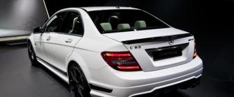 Mercedes C63 AMG Edition 507 is er ook nog
