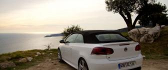 Volkswagen Golf R Cabriolet: Rijtest en video
