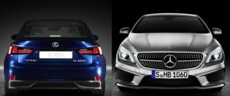 Kies maar: Lexus IS 300h vs Mercedes CLA 220 CDI