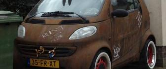 Smart ForTwo met ratlook is sub zero cool [updated]