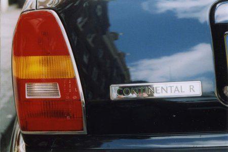 Bentley Continental R - Foto © Jim Appelmelk