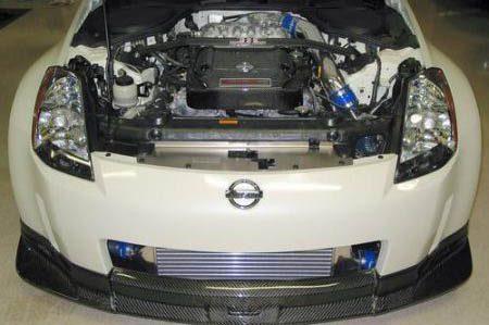 350Z onder de kap