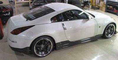 350Z TT side