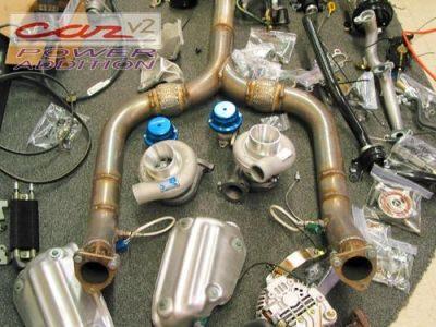 350Z TT turbos