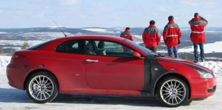 Alfa Romeo GT facelift