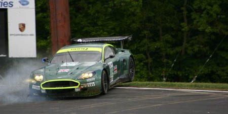 Aston Martin DBR9 Flying