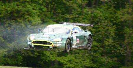 Aston Martin ALMS Flying