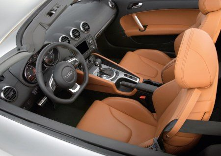 De nieuwe audi tt roadster for Interieur tt 2000