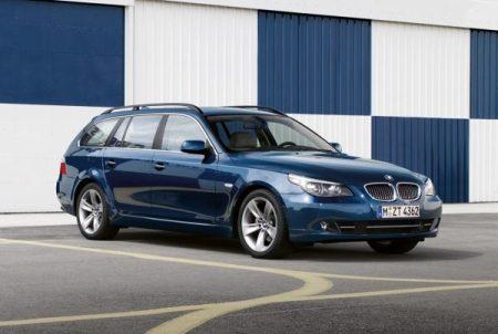 BMW 5-serie facelift 2007